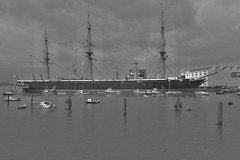 HMS Warrior - Portsmouth (Dave Minty) Tags: portsmouth hmswarrior