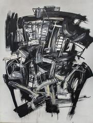 Antonio Saura - Dama (Edgardo W. Olivera) Tags: madrid espaa art museum lady canon painting eos spain europa europe arte museo dama pintura saura reinasofa 60d edgardoolivera