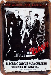 The Clash poster tin plate copy. (Ledlon89) Tags: music sign rock poster clash punkrock theclash classicrock londonmusic