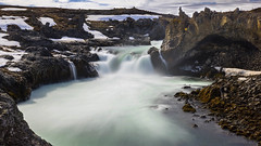 we met a dragon in Iceland at last  .... (lunaryuna) Tags: longexposure panorama nature beauty river season landscape waterfall iceland spring highlands rocks dragon le geology lunaryuna godafoss goafoss rivergorge waterfallofthegods stonedragon seasonalchange skjlfandafljtriver epiclandscapes alandoficeandfire centralnorthiceland canyouspotthedragon