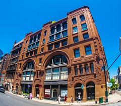 Broome and Wooster Streets (Ed Newman) Tags: newyork newyorkciy newyorkarchitecture newyorkcityarchitecture architecture castirondistrict gothamist manhattan soho fisheye fisheyelens nikond700 nikon