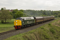 40106 2J65 (DM47744) Tags: park travel green english heritage electric train bury nikon track diesel 4 country transport traction rail loco trains class lancashire type british locomotive 40 preserved society elr preservation burrs d306 40106 class40 cfps d3100