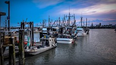 Fishing boats at rest (Images by Christie  Happy Clicks for 2016!) Tags: motion heritage marina river boats fishing dock nikon village richmond wharf fishermanswharf fraserriver sway steveston fishingvillage fishboats stevestonheritagefishingvillage gillnetters d5200