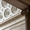 NYC_Fifth_Met_277 (TNoble2008) Tags: ceiling column vault 1913 entablature coffer baluster materialstone materialplaster styleionic ornamentegganddart ornamentdentils architectmckimmeadandwhite vaultbarrel ornamentrosette typeinterior