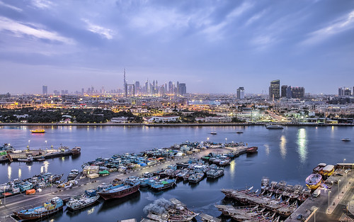 Dubai from Hilton Dubai Creek