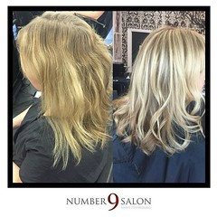 "By stylist, Eric: ""partial highlight with some balayage pieces, plus a soft root shadow for easy grow out."" #tampabay #dtsp • <a style=""font-size:0.8em;"" href=""http://www.flickr.com/photos/41394475@N04/27428159262/"" target=""_blank"">View on Flickr</a>"