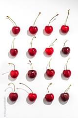 Cherry on white #2 (Elisa Gabbrielleschi) Tags: nikon d7100stilllife cherry red onwhite elisagabbrielleschi hellohelloelisagabrielistock