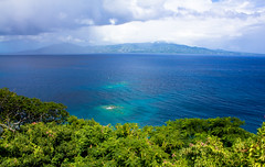 La Guadeloupe depuis Les Saintes (-CyRiL-) Tags: france guadeloupe basseterre cyrilbkl departementsdoutremer cyrilnovello
