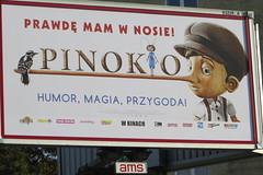 2014-100525 (bubbahop) Tags: movie poland billboard advertisement warsaw pinocchio 2014 pinokio europetrip31