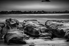 Mono (Hanson Brothers) Tags: ocean longexposure sea beach landscape surf pacific wideangle lajolla tidalpools ndfilter fujinon1855 fujixt1