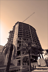 Quick Update, Le Meridien Jan-2-15 (Bader Alotaby) Tags: road building skyline architecture shopping photography star hotel king five district north le intersection riyadh meridien ksa abdullah olaya