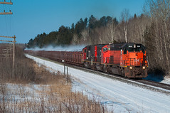 BLE 904 Utac (shawn_christie1970) Tags: railroad winter snow cold minnesota cn train unitedstates steam legos happybirthday projects taconite pellets missabe saginaw utac cn904 dmir405 cn5337