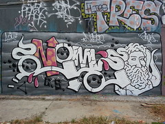 Tres & Nemco... (colourourcity) Tags: nemco cs adm streetart graffiti melbourne colourourcity tres id theboneyard