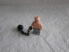 Absorbing Man (arctroopera79) Tags: man ball lego evil mini chain figure masters custom thor marvel villain avengers absorbing minifigure moc