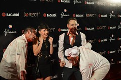 """Angy en el estreno de """"REC 4: Apocalipsis"""" en Madrid"""