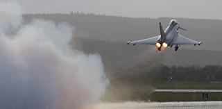 RAF Typhoon Eurofighter