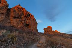 Gold-Kissed Devil's Backbone (Matt Thalman - Valley Man Photography) Tags: morning rock sunrise landscape colorado loveland trail devilsbackbone