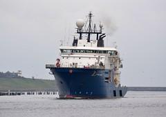 Mermaid Endurer Tyne 210115 (silvermop) Tags: sea port river boat ship offshore ships tyne offshorevessels mermaidendurer