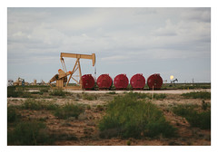 Tanks (blake.thornberry) Tags: county usa newmexico america canon jack tank basin 100mm gas pump flare oil 5d f2 nm eddy tanks crude pumpjack permian markiii m35d
