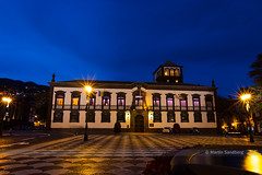 Funchal City Hall (Swedish Goose) Tags: portugal nightshot cityhall bluehour madeira funchal canonef1635mmf28lii 1635mmf28lii canoneos6d