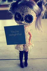 You're delightful!