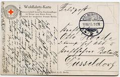 (Kaïopai°) Tags: postcard kreuz kaiser ww1 1915 hindenburg redcross postkarte rotes weltkrieg drk deutschesroteskreuz warpropaganda wk1 kaiserwilhelmii feldpost wohlfahrtskarte