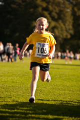 The 2013 Abbots Langley Tough Ten Race (Watford and Three Rivers Trust) Tags: park autumn sports girl race happy person kid child tshirt running run racing trainers shorts runner hertfordshire active runningshoes sunnyday girlrunning abbottslangley ahletics toughten
