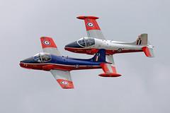 BAC 84 Jet Provost T5 G-BWSG  XW324 / U and BAC 84 Jet Provost T5A G-JPVA  XW289 / 73 (Andy C's Pics) Tags: duxford bac imperialwarmuseum iwm jetprovost gbwsg xw324 xw289 gjpva bac84 bac84jetprovostt5a bac84jetprovostt5