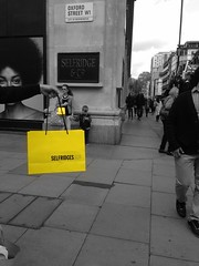 Its all about those yellow bags!