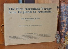 The First Aeroplane Voyage from England to Australia  - Aeroviews of Sydney by Sir Ross Smith 1920  - cover (AndyBrii) Tags: 1919 1920 keithsmith rosssmith vickersvimy frankhurley englandtoaustralia firstaeroplanevoyager