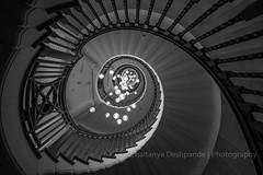 Wormhole (Chaitanya Deshpande | Photography) Tags: london spiral staircase spiralstaircase heals londonarchitecture healsdepartmentstore