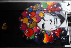 Jim Morrisson vu par Ceet (Chrixcel) Tags: streetart paris painting graffiti lemur graff thedoors oberkampf jimmorrisson ceet