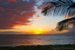 Maui Sunset (Jared Ropelato) Tags: wild west art nature beauty landscape pacific outdoor conservation environmental pacificnorthwest environment wilderness pnc conserve ropelato jaredropelato ropelatophotography
