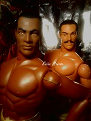 sexy BLACK MEN (krixxxmonroe) Tags: black male dolls action ryan d ooak handsome monroe joes ira figures aa gi krixx