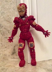#ironman #marvel #avengers my #copyright photo and knitted drsign (Denise Salway) Tags: robert wool wales design knitting doll dolls handmade witch craft jr ironman yarn tribute welsh knitted denise avengers designed downey the handknitted fibreart salway