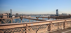 Across Brooklyn Bridge (Occlude) Tags: newyorkcity usa brookylnbridge