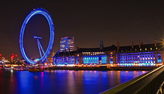 County Hall with Blurry Eye (Travis Pictures) Tags: city uk winter england london tourism westminster photoshop nikon britain londoneye tourists southbank riverthames embankment southwark waterway cityoflondon d5200 capitalsoftheworld