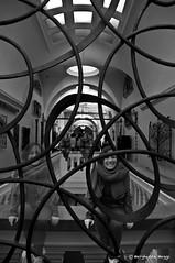 fotografia futurista #3 (marghe4ever) Tags: white black london museum albert victoria bn fotografia bianco londra nero manifesto trasparenze grata futurista marghe4ever semitrasparenze
