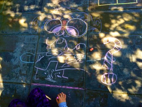 Krysta's Chalk Drawing