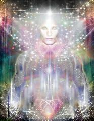 DIVINE-SOUL (Kesara Art) Tags: light art divine sacred meditation extraterrestrials et beings multidimensional channeled ufoart kesaraart kesaraets extraterrestrialart christinekesaradennett