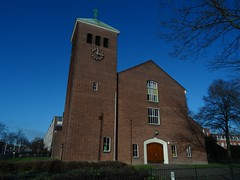 Bethelkerk (1955) Utrecht (Zuilen) (Kvnivek) Tags: tower church netherlands utrecht sony cybershot kerk