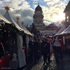Christmas market on the Gendarme Market in Berlin (seanavigatorsson) Tags: travel berlin weihnachten market weihnachtsmarkt markt chritsmas gendarmenmarkt christmas2014 weihnachten2014 genarmemarket