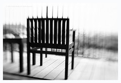 tied in a shifting anchor point (Iceler) Tags: bw lensbaby chair view aspect