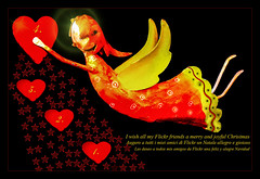 4. Advent (scorpion (13)) Tags: christmas people colour angel stars fun for all peace heart time frame photoart find