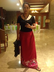 "My take on ""Filipiniana"" (davanita) Tags: camera wedding me mirror filipiniana slefie ip5"
