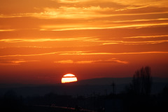 Zalazak u Slavonskom Brodu (sunset)