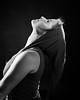 Kirsten's Hood (christait) Tags: portrait blackandwhite woman canada calgary monochrome beautiful beauty festival studio model profile elf alberta link hood 4x5 vest kirsten largeformat yyc toyo45g schneider210mmf56symmars