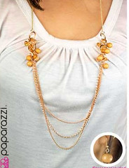 5th Avenue Yellow Necklace K2A P2320-1