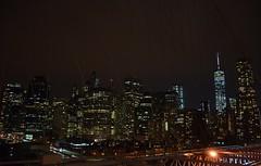 Brooklyn Bridge Walk, 01.04.15 (gigi_nyc) Tags: nyc newyorkcity sunset brooklyn twilight manhattan brooklynbridge newyorkskyline lowermanhattan