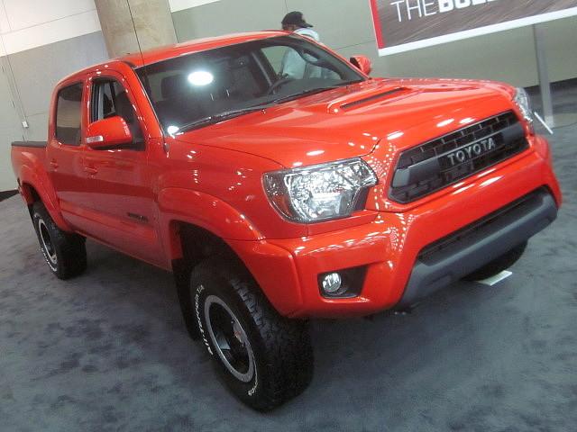 truck 4x4 pickup toyota tacoma carshow baltimoremd 2015 baltimoreconventioncenter motortrendinternationalautoshow trdpro